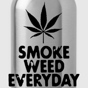 smoke weed everyday leaf Pullover & Hoodies - Trinkflasche