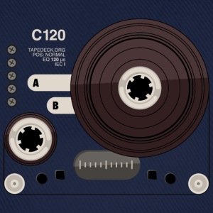 Tape parts: C120 - Baseballcap