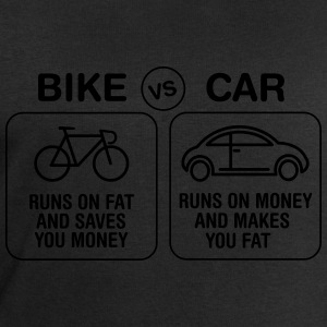 Bike VS Car Tee shirts - Sweat-shirt Homme Stanley & Stella