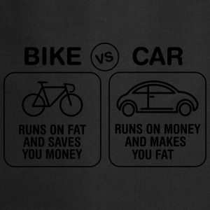 Bike VS Car T-Shirts - Kochschürze