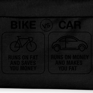 Bike VS Car T-Shirts - Kinder Rucksack