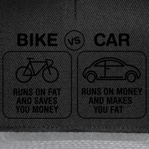 Bike VS Car T-Shirts - Snapback Cap