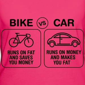 Bike VS Car Bags & backpacks - Women's Organic T-shirt