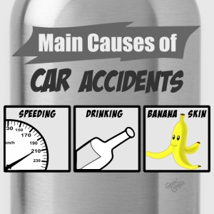 car accidents T-Shirts - Trinkflasche
