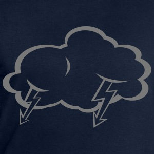 Lightning  cloud  T-Shirts - Men's Sweatshirt by Stanley & Stella