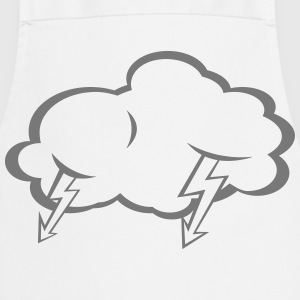 Lightning  cloud  T-Shirts - Cooking Apron