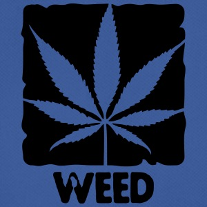 weed with boxed leaf Kasketter & Huer - Herre T-shirt svedtransporterende