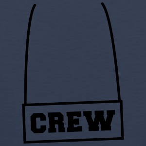 Crew Necklace T-skjorter - Premium singlet for menn