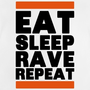eat sleep rave repeat T-Shirts - Baby T-Shirt