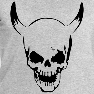 Skull with horns  T-Shirts - Men's Sweatshirt by Stanley & Stella