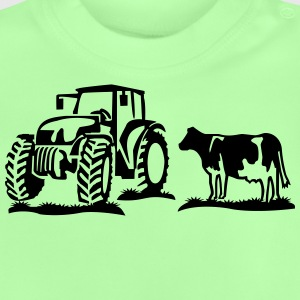 cow and tractor Shirts - Baby T-Shirt