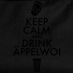 KEEP CALM AND DRINK ÄPPELWOI - Kinder Rucksack