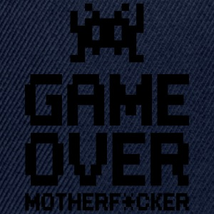 game over motherf*cker Tee shirts - Casquette snapback