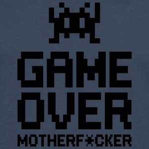 game over motherf*cker Tee shirts - T-shirt manches longues Premium Homme