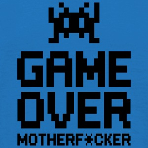 game over motherf*cker Vesker & ryggsekker - T-skjorte for menn