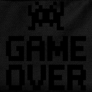 game over with sprite Camisetas - Mochila infantil