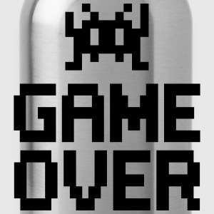 game over with sprite T-Shirts - Trinkflasche