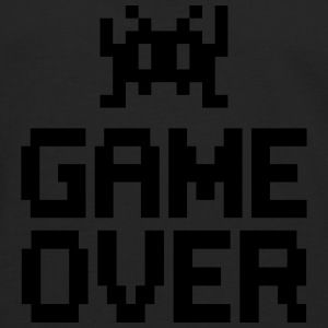 game over with sprite Tee shirts - T-shirt manches longues Premium Homme