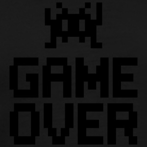 game over with sprite Pullover & Hoodies - Männer Premium T-Shirt