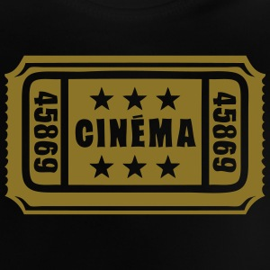 ticket cinema cine entrance 1 Tee shirts - T-shirt Bébé