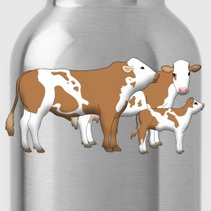 cowfamily 1 T-shirts - Drinkfles