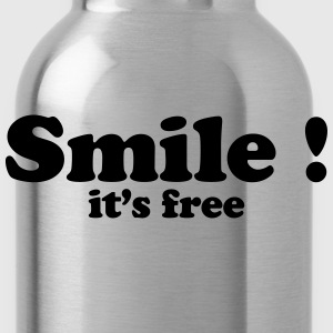 smile it's free Sweat-shirts - Gourde