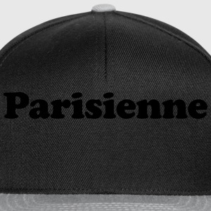 parisienne Tee shirts - Casquette snapback