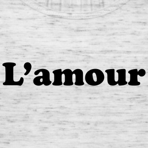 l'amour Hoodies & Sweatshirts - Women's Tank Top by Bella