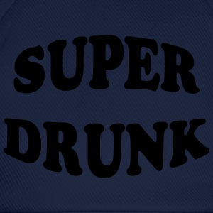 Super Drunk T-shirts - Basebollkeps