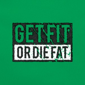Get Fit Or Die Fat | Retro T-shirts - Retro taske
