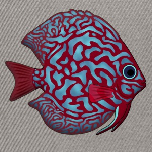 discus fish 1 Sweat-shirts - Casquette snapback