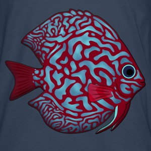 discus fish 1 Bags & backpacks - Men's Premium Longsleeve Shirt