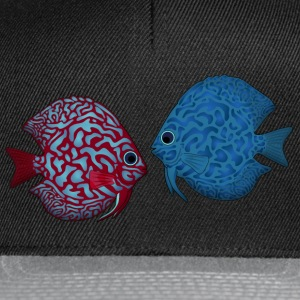 discus fish 2 Tee shirts - Casquette snapback