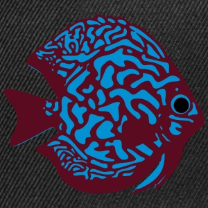 discus fish vektor Sweat-shirts - Casquette snapback