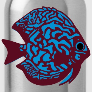 discus fish vektor T-Shirts - Water Bottle
