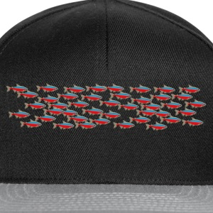 Neon fish 2 Sweat-shirts - Casquette snapback