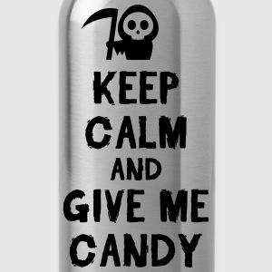 Keep cam and give me candy T-Shirts - Trinkflasche