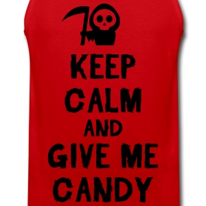 Keep cam and give me candy T-skjorter - Premium singlet for menn