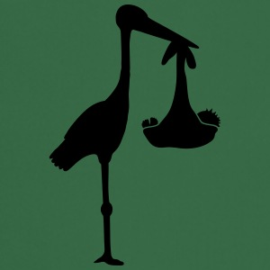 Stork And Baby T-shirts - Forklæde