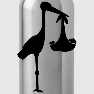 Stork And Baby T-Shirts - Trinkflasche