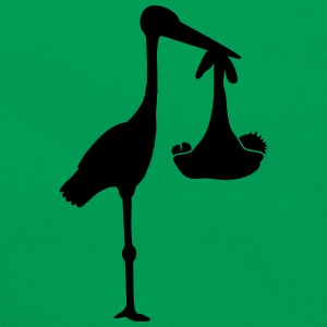 Stork And Baby Magliette - Borsa retrò