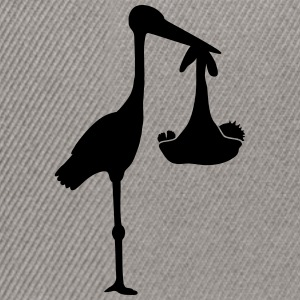 Stork And Baby T-Shirts - Snapback Cap