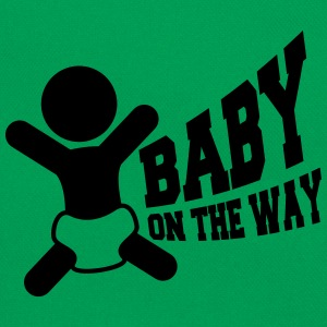 Baby On The Way T-shirts - Retro taske