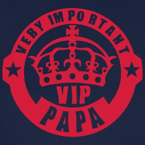 very important papa vip couronne logo 4 Tee shirts - Casquette classique