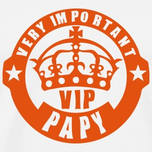 very important papy vip couronne logo 4 Sweat-shirts - T-shirt Premium Homme