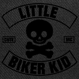 Little Biker Kid Cute MC Hoodies - Snapback Cap