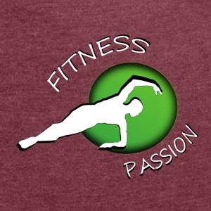 Fitness passion Accessories - Dame T-shirt med rulleærmer