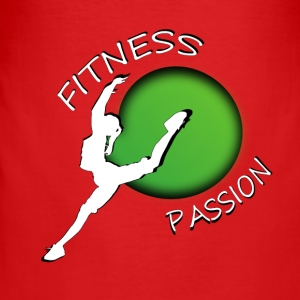 Fitness passion Barn & baby - Slim Fit T-shirt herr