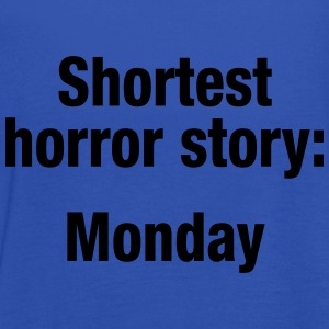 Shortest horror story: Monday - Tanktopp dam från Bella
