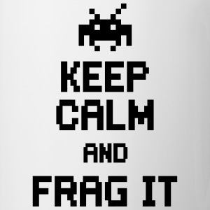 keep calm and frag it Bluzy - Kubek